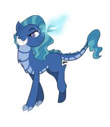 Size: 1736x1987 | Tagged: safe, artist:gallantserver, oc, oc:lapilli, dracony, dragon, hybrid, female, parents:emberlight, solo