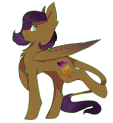 Size: 2056x2241 | Tagged: safe, artist:cookietasticx3, oc, oc only, pegasus, pony, chest fluff, pegasus oc, raised hoof, simple background, smiling, solo, transparent background