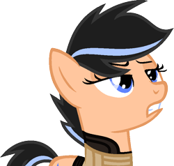 Size: 716x682 | Tagged: safe, artist:kingbases, artist:pegasski, oc, oc only, earth pony, pony, base used, bust, clothes, earth pony oc, eyelashes, female, mare, simple background, solo, transparent background