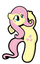 Size: 900x1445   Tagged: safe, artist:thread8, fluttershy, pegasus, pony, cute, female, golf, golf blitz, mare, png, shyabetes, simple background, smiling, solo, sports, swinging, transparent background