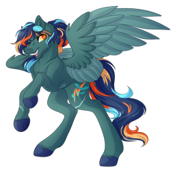 Size: 3882x3834 | Tagged: safe, artist:amazing-artsong, oc, oc:nimbus bolt, pegasus, pony, goggles, high res, male, simple background, solo, stallion, transparent background