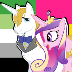 Size: 250x250 | Tagged: safe, prince blueblood, princess cadance, bluedance, crack shipping, female, headcanon, infidelity, lgbt headcanon, male, shipping, straight