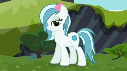 Size: 1280x720 | Tagged: safe, oc, oc:ice cream (bronukon), earth pony, bronukon, mascot, solo