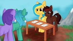 Size: 1280x720 | Tagged: safe, oc, pony, bronukon, nation ponies, ponified, ukraine