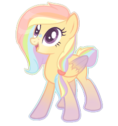 Size: 589x629 | Tagged: safe, artist:cookietasticx3, oc, oc only, pegasus, pony, base used, colored wings, eyelashes, gradient wings, looking up, multicolored hair, open mouth, pegasus oc, rainbow hair, rainbow tail, simple background, smiling, solo, transparent background, wings