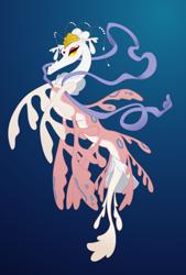 Size: 682x1008 | Tagged: safe, artist:queencold, oc, dragon, crown, dragon oc, eyeshadow, female, jewelry, makeup, princess, regalia, ribbon, solo, solo female