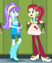 Size: 349x424 | Tagged: safe, screencap, aqua blossom, rose heart, equestria girls, equestria girls (movie), cropped