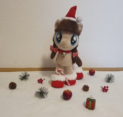 Size: 1280x1220 | Tagged: safe, oc, oc:connie bloom, christmas, cute, euro bronycon, holiday, irl, photo, plushie
