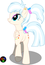 Size: 2153x3154 | Tagged: safe, artist:kyoshyu, oc, oc:gallery dart, pegasus, pony, butt, female, high res, mare, plot, simple background, solo, transparent background