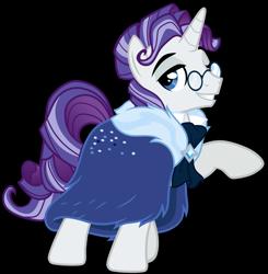 Size: 2089x2131   Tagged: safe, artist:whalepornoz, rarity, pony, unicorn, clothes, coat, elusive, glasses, high res, male, older, older elusive, older rarity, rule 63, simple background, solo, stallion, transparent background