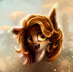 Size: 1500x1474 | Tagged: safe, artist:stdeadra, oc, earth pony, pony, beautiful, big ears, big eyes, bust, portrait
