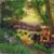 Size: 1000x999   Tagged: safe, artist:sa1ntmax, applejack, earth pony, pony, fence, scenery, solo, traditional art