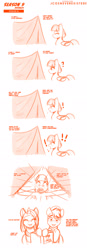 Size: 960x2743 | Tagged: safe, artist:jcosneverexisted, clear sky, quibble pants, wind sprint, pony, common ground, angry, book, comic, dialogue, exclamation point, female, filly, innuendo, male, mare, season 9 doodles, stallion, surprised
