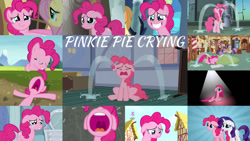 Size: 1280x720 | Tagged: safe, edit, edited screencap, editor:quoterific, screencap, applejack, fluttershy, pinkie pie, rarity, twilight sparkle, earth pony, pegasus, pony, unicorn, baby cakes, party of one, pinkie pride, ponyville confidential, putting your hoof down, rock solid friendship, tanks for the memories, the beginning of the end, the lost treasure of griffonstone, the maud couple, too many pinkie pies, applejack's hat, cowboy hat, crying, eyes closed, female, grin, hat, lip bite, male, mare, nose in the air, open mouth, pinkamena diane pie, sad, smiling, stallion, sugarcube corner, tears of joy, unicorn twilight, volumetric mouth