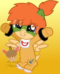 Size: 1484x1820 | Tagged: safe, artist:kittycatsun, pegasus, pony, bib, bowser jr, colt, cute, male, mario, ponified, smiling, supermariologan