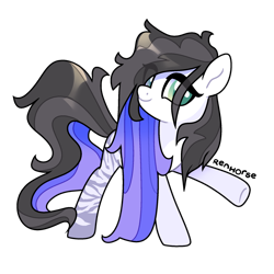 Size: 1280x1280 | Tagged: safe, artist:renhorse, oc, earth pony, pony, female, mare, simple background, solo, transparent background