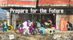 Size: 5360x3008   Tagged: safe, artist:andoanimalia, artist:dashiesparkle, artist:kol98, artist:ponygamer2020, artist:tentapone, artist:walrusinc, capper dapperpaws, captain celaeno, fizzlepop berrytwist, grubber, princess skystar, queen novo, songbird serenade, tempest shadow, abyssinian, bird, cat, classical hippogriff, dog, hedgehog, hippogriff, parrot, parrot pirates, pegasus, pony, unicorn, anthro, fallout equestria, my little pony: the movie, absurd resolution, amputee, armor, beautiful, bethesda, bow, broken horn, brotherhood of steel, clothes, coat, crown, cute, cutie mark, dogmeat, eye scar, fallout, fallout 4, female, group, grubberbetes, hair bow, hasbro, hasbro logo, hat, horn, jewelry, jumpsuit, lidded eyes, looking at you, majestic, male, mare, movie accurate, necklace, nuka cola, peg leg, pipboy, pirate, pirate hat, power armor, prepare for the future, pretty pretty tempest, prosthetic leg, prosthetic limb, prosthetics, raised eyebrow, raised hoof, regalia, ring, scar, show accurate, sia (singer), smiling, smiling at you, tail, teeth, tempestbetes, vault 111, vault boy, vault suit, vector, wallpaper, wings, workshop