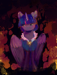 Size: 1280x1679 | Tagged: safe, artist:penny-wren, twilight sparkle, alicorn, pony, solo, twilight sparkle (alicorn)