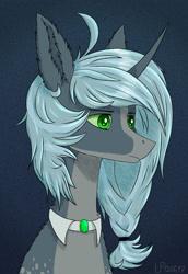 Size: 1280x1861 | Tagged: safe, artist:ajaxorsomething, oc, pony, unicorn, bust, male, portrait, solo, stallion