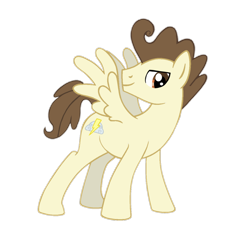 Size: 1248x1248 | Tagged: safe, artist:candyandflurry, pound cake, pegasus, pony, the last problem, male, older, older pound cake, simple background, solo, transparent background, vector