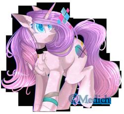 Size: 2492x2296 | Tagged: safe, artist:mediasmile666, oc, oc only, pony, unicorn, choker, female, high res, horn, mare, simple background, solo, transparent background, unicorn oc