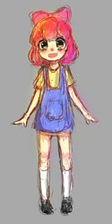 Size: 600x1200 | Tagged: artist needed, source needed, safe, apple bloom, human, female, humanized, solo
