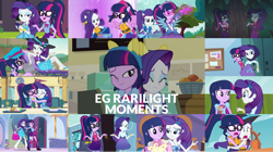 Size: 1280x719 | Tagged: safe, edit, edited screencap, editor:quoterific, screencap, rarity, sci-twi, spike, twilight sparkle, dog, best trends forever, dance magic, eqg summertime shorts, equestria girls, equestria girls (movie), equestria girls series, forgotten friendship, inclement leather, leaping off the page, rainbow rocks, spring breakdown, super squad goals, text support, text support: rarity, the salty sails, spoiler:eqg series (season 2), spoiler:eqg specials, beach, best trends forever: twilight sparkle, bowtie, bracelet, cellphone, clothes, crystal guardian, cute, cutie mark, cutie mark on clothes, duo, duo female, eyes closed, fall formal outfits, female, geode of shielding, geode of telekinesis, glasses, hug, inclement leather: twilight sparkle, jewelry, lesbian, magic, magical geodes, male, music festival outfit, necklace, one eye closed, one-piece swimsuit, open mouth, phone, ponied up, ponytail, rain, raribetes, rarilight, rarity peplum dress, screaming, shipping, smartphone, smug, smuglight sparkle, spike the dog, swimsuit, telekinesis, twiabetes, twilight ball dress