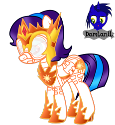 Size: 3840x4154 | Tagged: safe, artist:damlanil, daybreaker, princess celestia, oc, oc:star eyes, alicorn, pegasus, pony, bdsm, blindfold, bondage, bondage mask, boots, bound wings, catsuit, clothes, collar, commission, corset, female, gag, gimp suit, helmet, high heels, hood, hoof shoes, horn, hypnogear, jewelry, latex, latex boots, latex suit, mare, muzzle gag, necklace, regalia, rubber, rubber suit, shiny, shiny mane, shoes, show accurate, simple background, socks, solo, story, thigh highs, transparent background, vector, wings