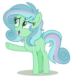 Size: 1256x1352 | Tagged: safe, artist:venomous-cookietwt, oc, earth pony, pony, female, magical lesbian spawn, offspring, parent:bon bon, parent:lyra heartstrings, parents:lyrabon, simple background, solo, transparent background