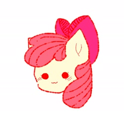 Size: 2048x1898 | Tagged: artist needed, source needed, safe, apple bloom, :3, face, female, filly, solo