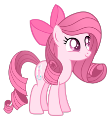 Size: 1860x2067 | Tagged: safe, artist:muhammad yunus, oc, oc only, oc:annisa trihapsari, earth pony, pony, 2018, base used, bow, cute, daaaaaaaaaaaw, earth pony oc, female, hair bow, indonesia, mare, not rarity, simple background, smiling, solo, transparent background, vector, younger