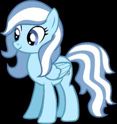 Size: 507x536 | Tagged: safe, artist:pegasski, oc, oc only, pegasus, pony, base used, eyelashes, female, mare, pegasus oc, simple background, smiling, solo, transparent background, wings