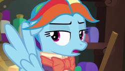 Size: 1920x1080 | Tagged: safe, screencap, rainbow dash, snowdash, pegasus, pony, a hearth's warming tail, female, mare, solo
