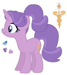 Size: 900x1000 | Tagged: safe, artist:magicuniclaws, oc, pony, unicorn, female, magical lesbian spawn, mare, offspring, parent:radiant hope, parent:starlight glimmer, simple background, solo, transparent background
