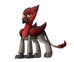 Size: 2400x2000 | Tagged: safe, artist:somber, oc, oc only, griffon, color, female, simple background, solo, transparent background