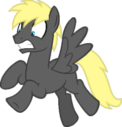 Size: 360x374 | Tagged: safe, artist:pegasski, oc, oc only, pegasus, pony, base used, flying, gritted teeth, male, pegasus oc, simple background, solo, stallion, transparent background, underhoof, wings