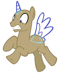 Size: 321x419 | Tagged: safe, artist:alari1234-bases, oc, oc only, alicorn, pony, alicorn oc, bald, base, flying, gritted teeth, horn, male, simple background, solo, stallion, transparent background, underhoof, wings
