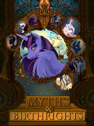 Size: 1200x1596 | Tagged: safe, artist:saint-juniper, twilight sparkle, oc, alicorn, pony, fanfic:myths and birthrights, twilight sparkle (alicorn)