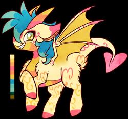 Size: 1002x929   Tagged: safe, artist:velnyx, oc, oc:lemon zest, dracony, dragon, hybrid, female, simple background, solo, transparent background