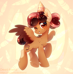 Size: 3249x3285 | Tagged: safe, artist:dedfriend, oc, oc only, pegasus, pony, pegasus oc, solo