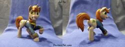Size: 8032x3008 | Tagged: safe, artist:lef-fa, oc, oc:littlepip, fallout equestria, figurine