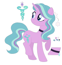 Size: 2600x2727 | Tagged: safe, artist:magicuniclaws, oc, pony, unicorn, female, magical lesbian spawn, mare, offspring, parent:radiant hope, parent:starlight glimmer, simple background, solo, transparent background