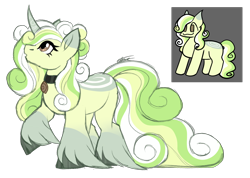 Size: 3302x2351 | Tagged: safe, artist:inspiredpixels, oc, oc:pine twinklestar, pony, unicorn, curved horn, female, horn, mare, simple background, solo, transparent background