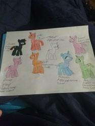 Size: 2448x3264 | Tagged: safe, oc, oc only, pony, unicorn, traditional art