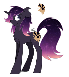 Size: 1600x1767 | Tagged: safe, artist:gallantserver, oc, oc:eventide, pony, unicorn, female, mare, simple background, solo, transparent background