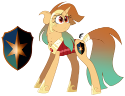 Size: 2151x1663 | Tagged: safe, artist:gallantserver, oc, oc:astrea, pony, unicorn, armor, female, mare, simple background, solo, transparent background