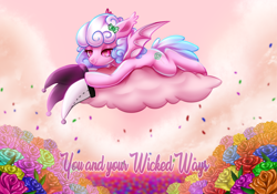Size: 900x631 | Tagged: safe, artist:cabbage-arts, oc, oc:haiky haiku, bat pony, admiration, cute, hat, in love, solo