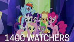 Size: 1280x720 | Tagged: safe, edit, edited screencap, editor:quoterific, screencap, applejack, fluttershy, pinkie pie, rainbow dash, rarity, spike, twilight sparkle, alicorn, dragon, earth pony, pegasus, pony, unicorn, season 4, twilight's kingdom, applejack's hat, cowboy hat, cute, dashabetes, diapinkes, female, hat, jackabetes, let the rainbow remind you, looking at you, male, mane seven, mane six, mare, raribetes, shyabetes, smiling, smiling at you, spikabetes, stallion, twiabetes, twilight sparkle (alicorn), twilight's castle