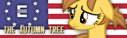 Size: 630x190 | Tagged: safe, artist:pegasski, oc, oc only, earth pony, pony, fallout equestria, earth pony oc, enclave, eyelashes, female, looking back, mare, solo