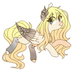 Size: 1280x1239 | Tagged: safe, artist:lynesssan, oc, oc:dalis, pegasus, pony, female, mare, simple background, solo, transparent background, two toned wings, wings
